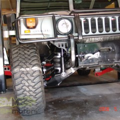 MASH Motors Inc Kansas Hummer H1 Humvee Build Image 11