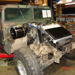 MASH Motors Inc Kansas Hummer H1 Humvee Build Image 15