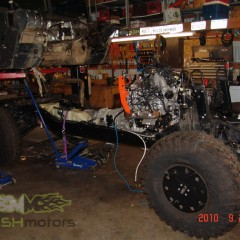 MASH Motors Inc Kansas Hummer H1 Humvee Build Image 17