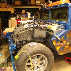 MASH Motors Inc Kansas Hummer H1 Humvee Build Image 20