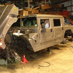 MASH Motors Inc Kansas Hummer H1 Humvee Build Image 21
