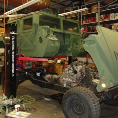 MASH Motors Inc Kansas Hummer H1 Humvee Build Image 23