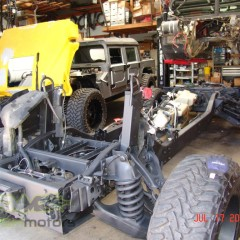 MASH Motors Inc Kansas Hummer H1 Humvee Build Image 25