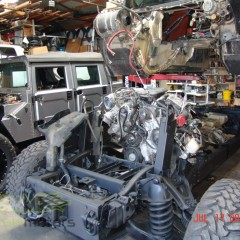 MASH Motors Inc Kansas Hummer H1 Humvee Build Image 27