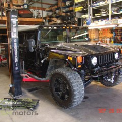 MASH Motors Inc Kansas Hummer H1 Humvee Build Image 29