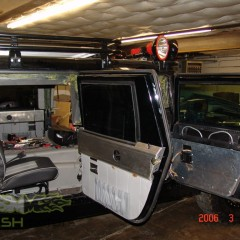 MASH Motors Inc Kansas Hummer H1 Humvee Build Image 4
