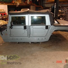 MASH Motors Inc Kansas Hummer H1 Humvee Build Image 8