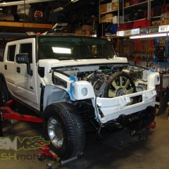MASH Motors Inc Kansas Hummer H2 Build Image 10