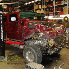 MASH Motors Inc Kansas Hummer H2 Build Image 13