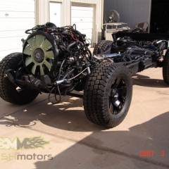 MASH Motors Inc Kansas Hummer H2 Build Image 2