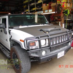 MASH Motors Inc Kansas Hummer H2 Build Image 23