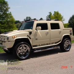 MASH Motors Inc Kansas Hummer H2 Build Image 5