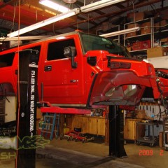 MASH Motors Inc Kansas Hummer H2 Build Image 7