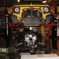 MASH Motors Inc Kansas Hummer H3 Build Image 1