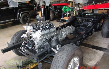 MASH Motors Inc Kansas Hummer H3 Build Image 11