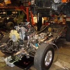 MASH Motors Inc Kansas Hummer H3 Build Image 2