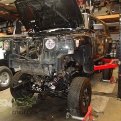 MASH Motors Inc Kansas Hummer H3 Build Image 4