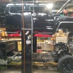 MASH Motors Inc Kansas Hummer H3 Build Image 7