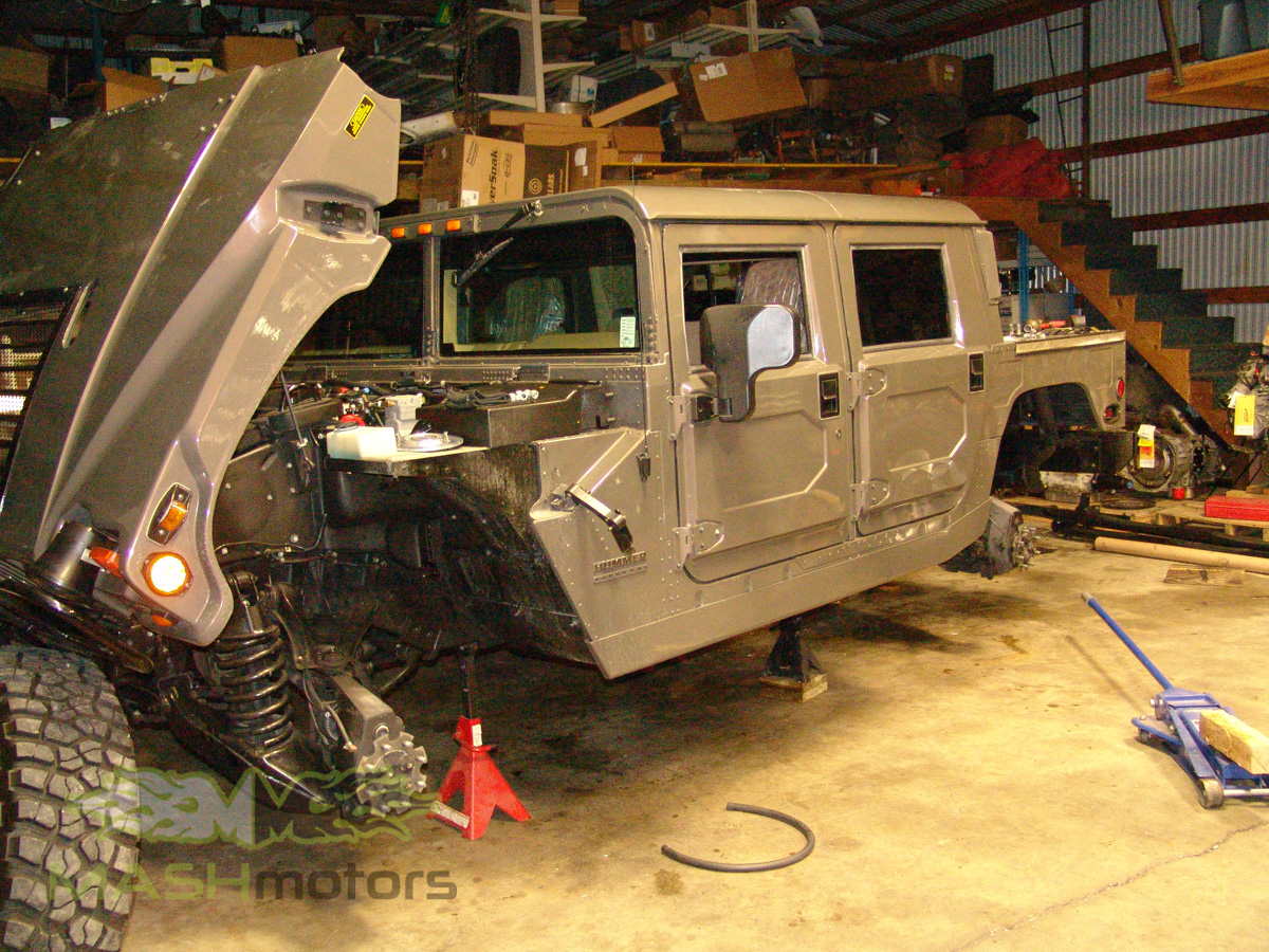 Hummer H1 Amp Humvee Build Mash Motors