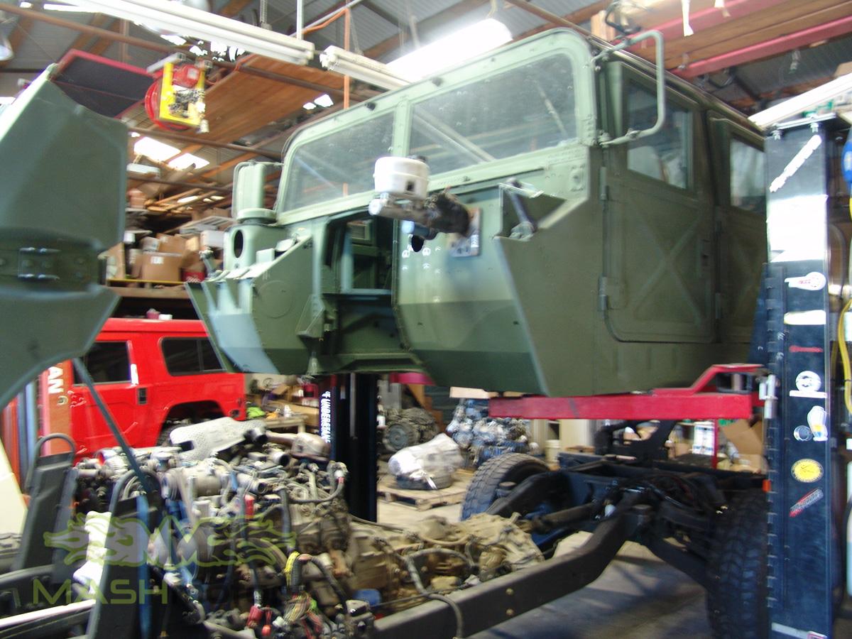 Motors For Sale >> Hummer H1 & Humvee Build   Mash Motors