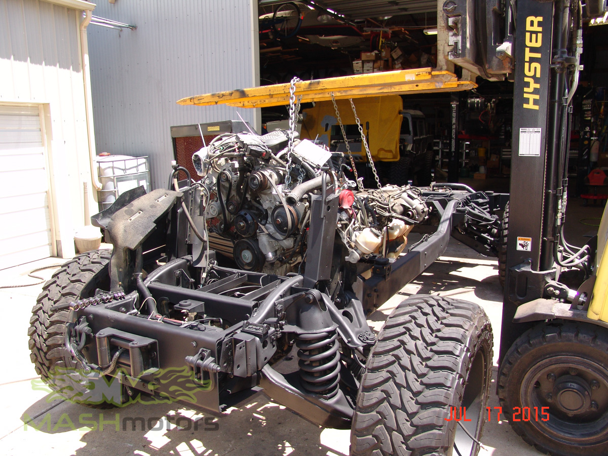 Hummer H1 Amp Humvee Build Mash Motors