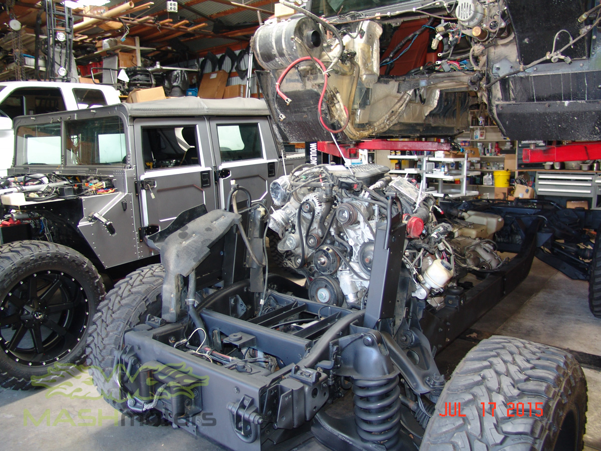 Hummer H1 & Humvee Build | Mash Motors