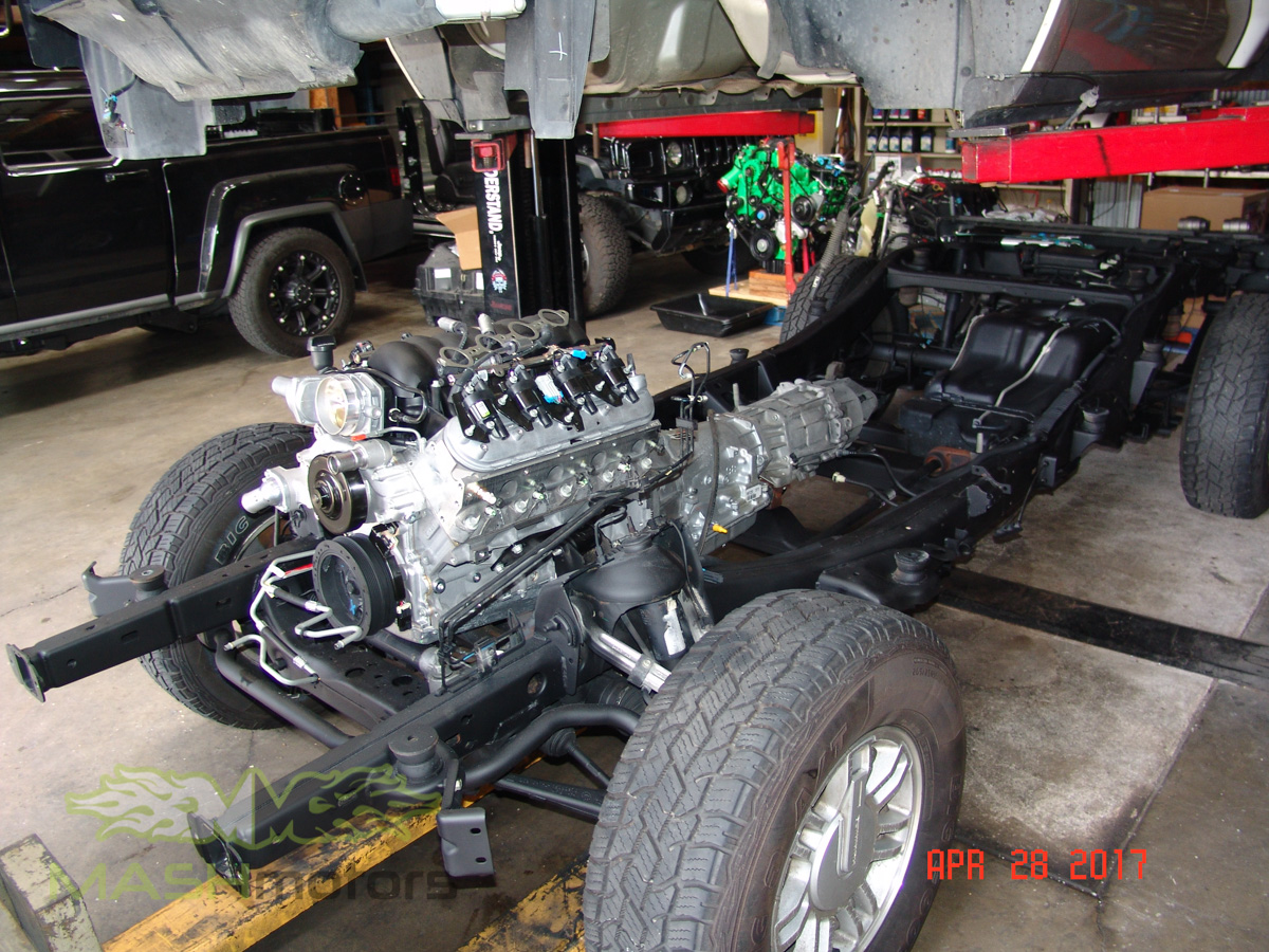 MASH Motors Inc Kansas Hummer H3 Build Image 11