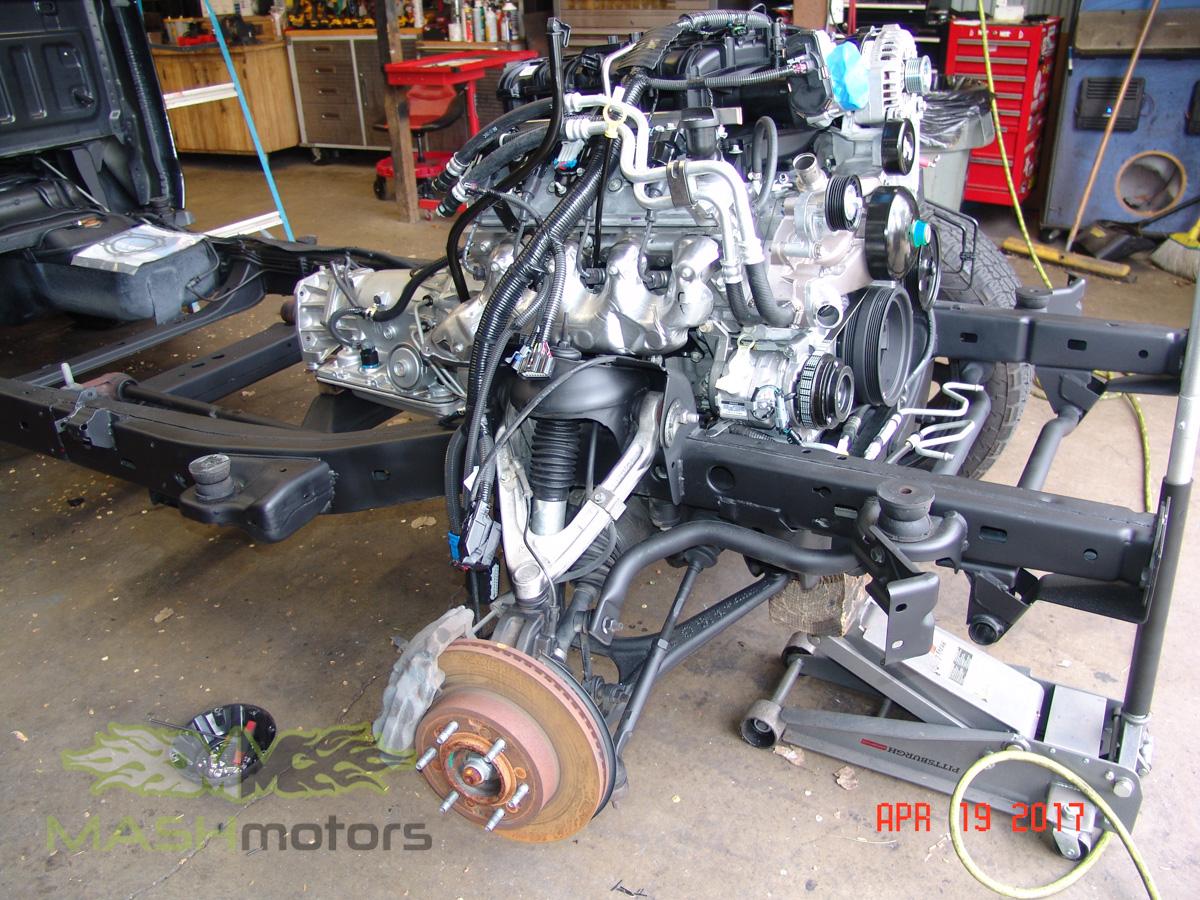 Hummer h3 build mash motors for H and h motors